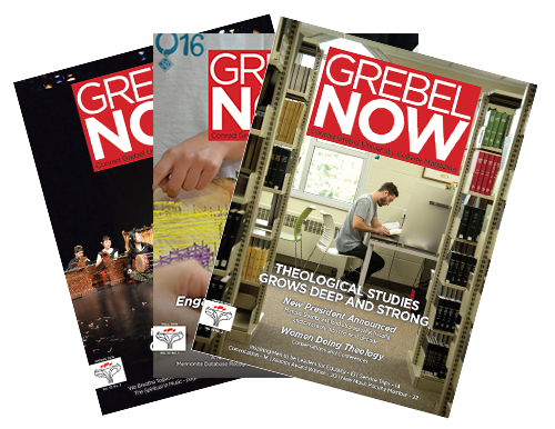 Grebel Now covers.