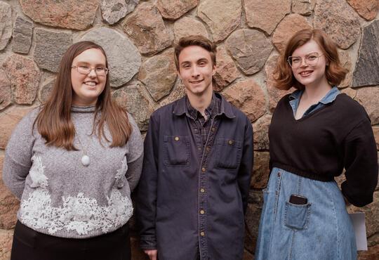 Victoria Lumax, Henry Stevens, and Catherine Bergs
