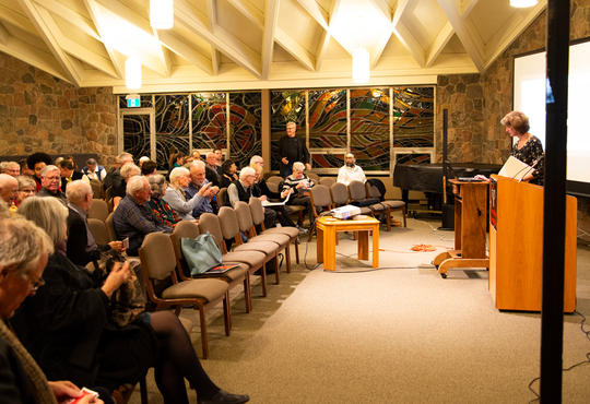 2018 Eby Lecture in Grebel Chapel