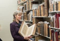 Laureen  Harder-Gissing at the Mennonite Archives of Ontario