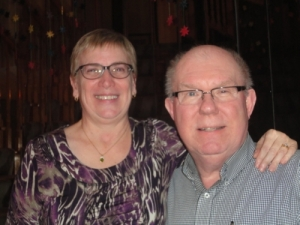 Anita and Bob Tiessen