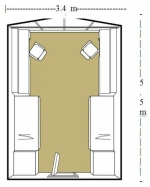 Grebel residence room dimensions
