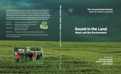 sound in the land essays on mennonites and music Which are the best books on the amish  land agent handbills, cemetery  this group does sound like a culti believe most of even the swartzentrubers around here.