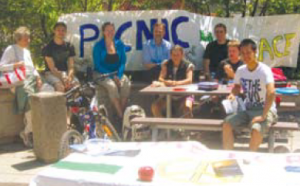Participants of Picnic for Peace. Photo by Joshua Enns.