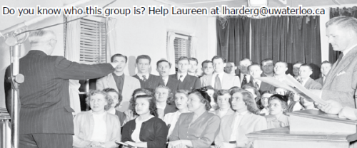 Do you know who this group is? Help Laureen at lharderg@uwaterloo.ca