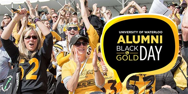 Alumni black and gold day
