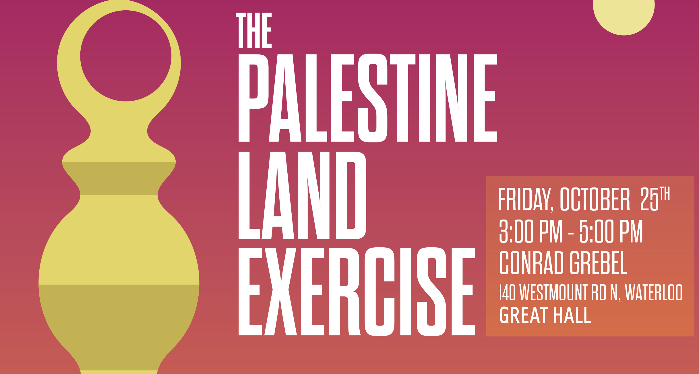 The Palestine Land Exercise