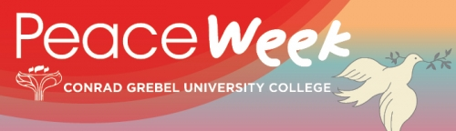 Peace Week web banner