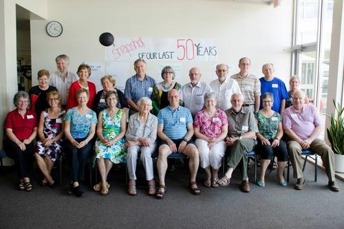 60s era photo from 50th reunion in 2013