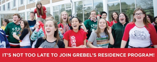 Join Grebel's residence program.
