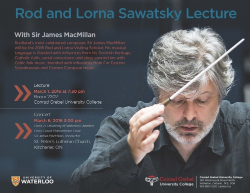 Sawatsky Lecture Poster