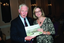 Susan Shultz Huxman and Governor General David Johnston
