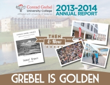 2013-14 Grebel Annual Report