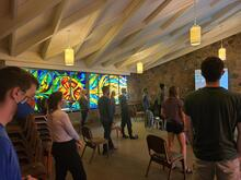 Grebel students in the Chapel