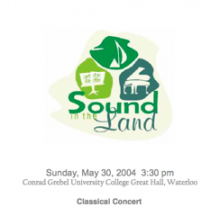 sound in the land 2004 cd cover