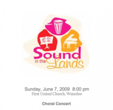 sound in the lands 2009 cd cover