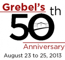 Grebel's 50th Anniversary