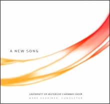 "Album artwork for ""A New Song""."