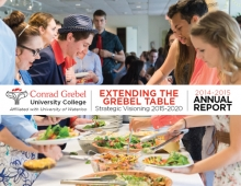 Grebel Annual Report 2014-15 cover