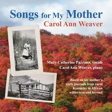 Songs for my mother cover art