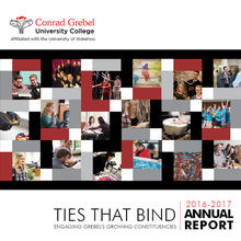 Ties that Bind - 2016-17 Annual Report, Conrad Grebel University College