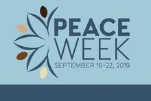 peace week logo 2019