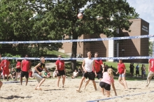 Students vs Staff and Faculty Volleyball Game