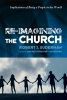 """""""Re-imagining the Church"""" book cover art."""