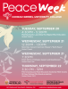 Peace Week events poster