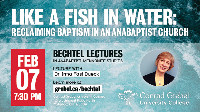 Like a Fish in Water: Reclaiming Baptism in an Anabaptist Church