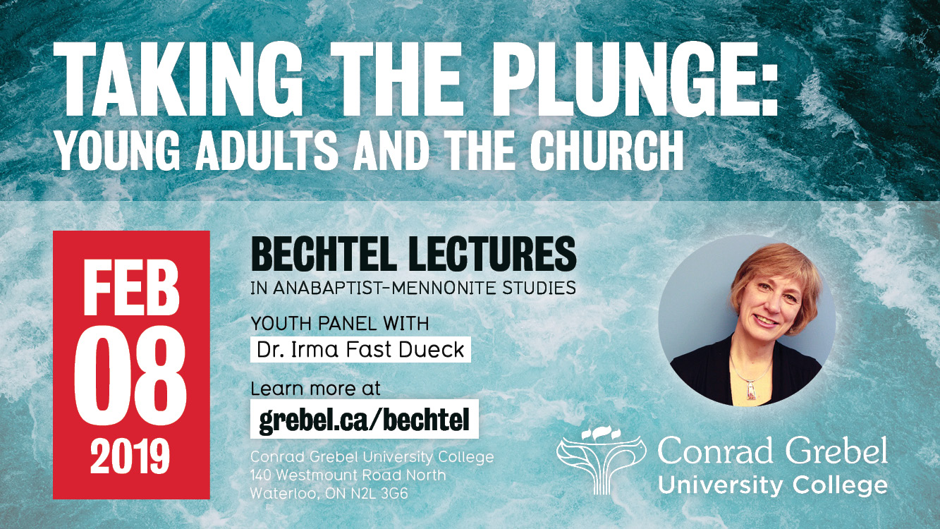 Taking the Plunge: Young Adults and the Church