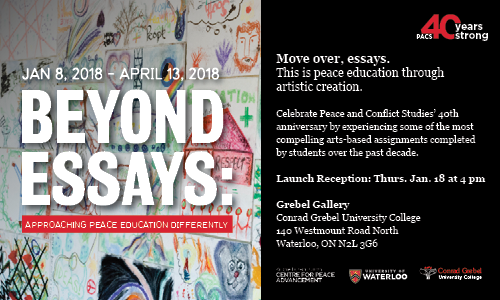 Beyond Essays Grebel Gallery.