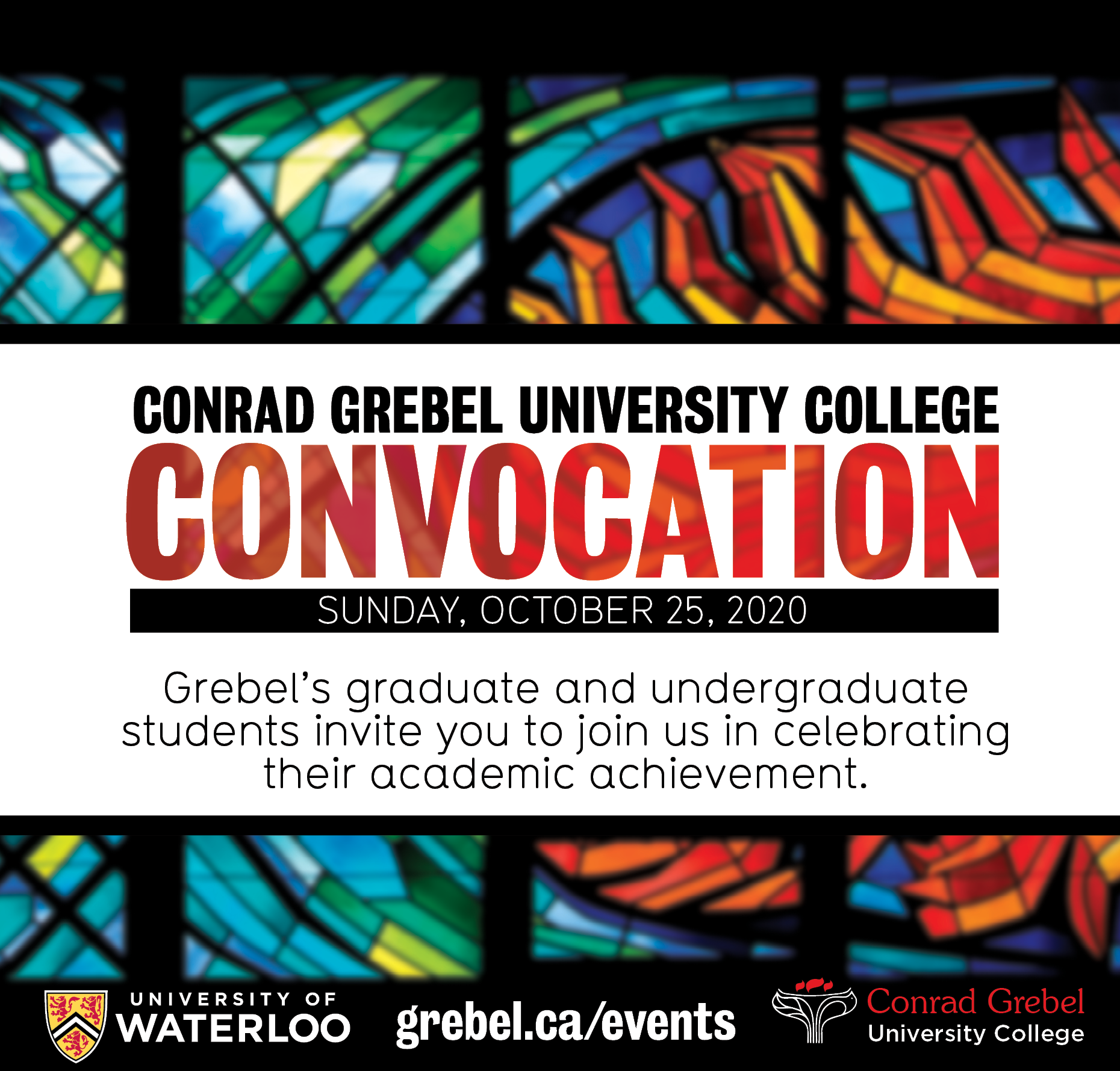 Convocation Invitation Image