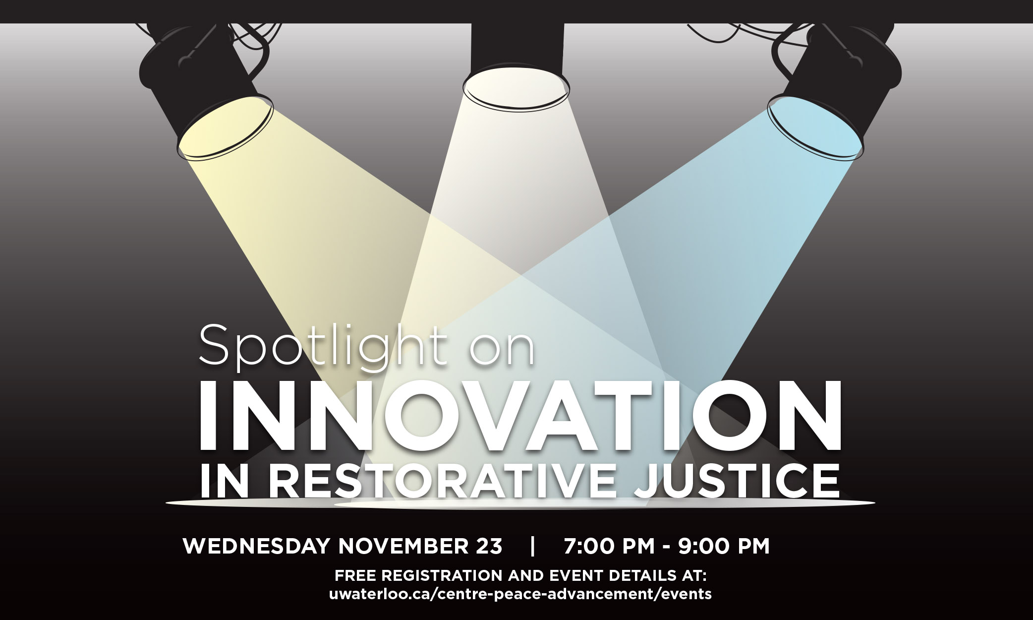 spotlight on innovation in restorative justice shareable image