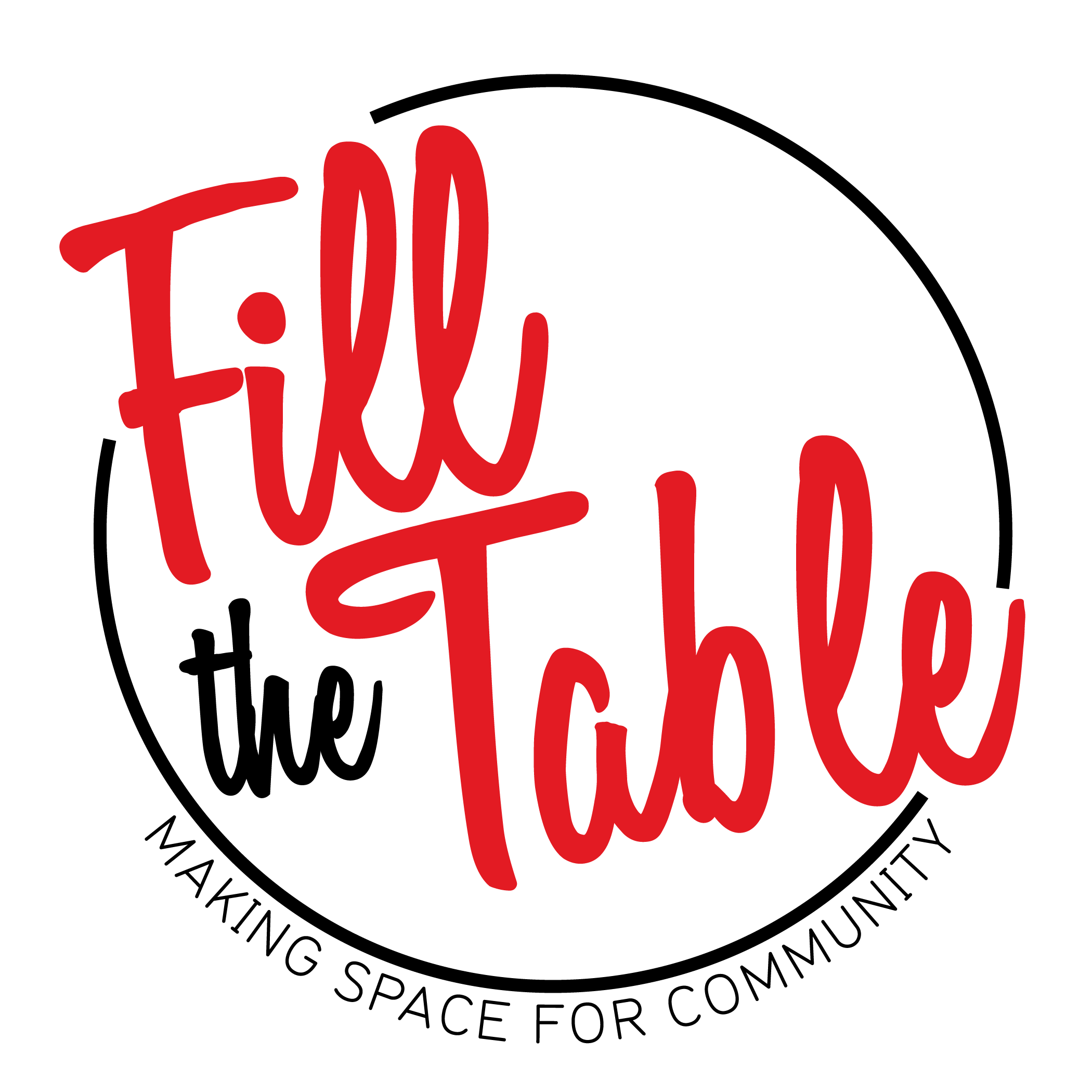 Fill the table making space for community