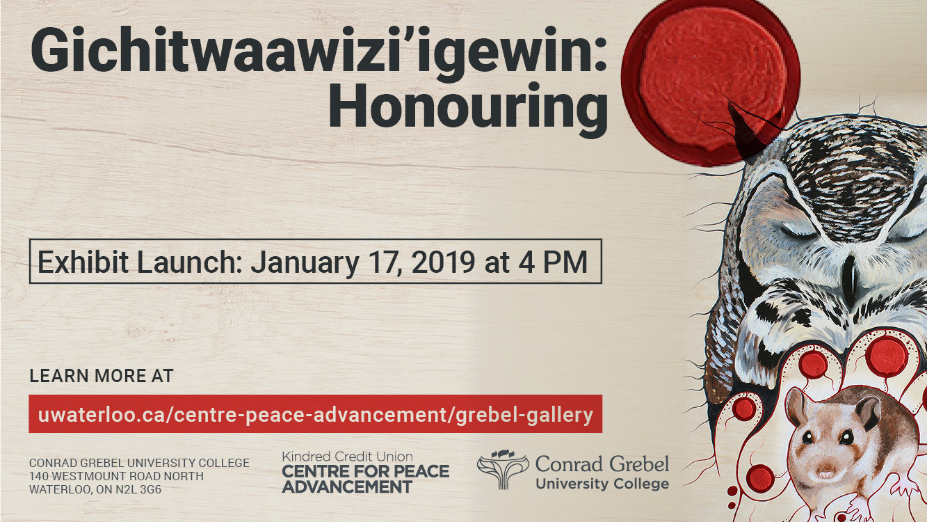 Grebel Gallery Exhibit Launch Reception January 17