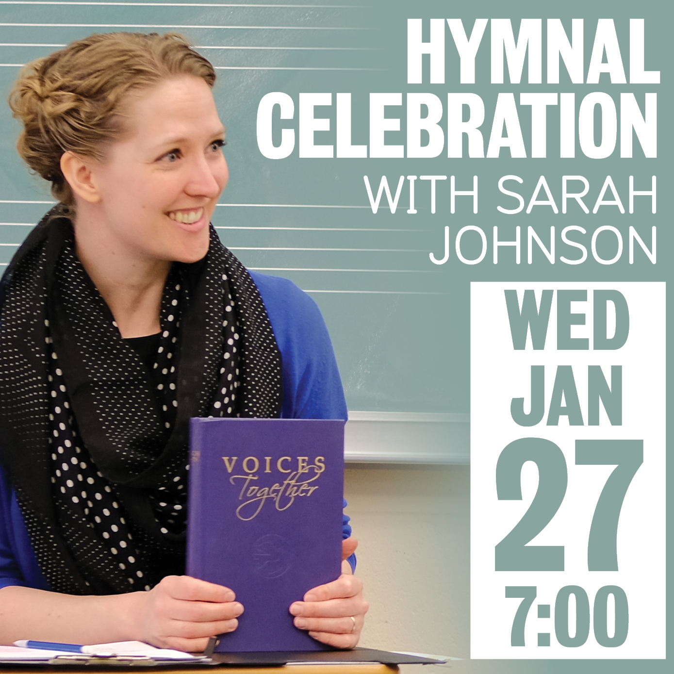 Hymnal Celebration with Sara Johnson