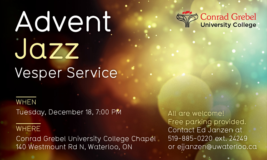 Advent Jazz Vesper Service