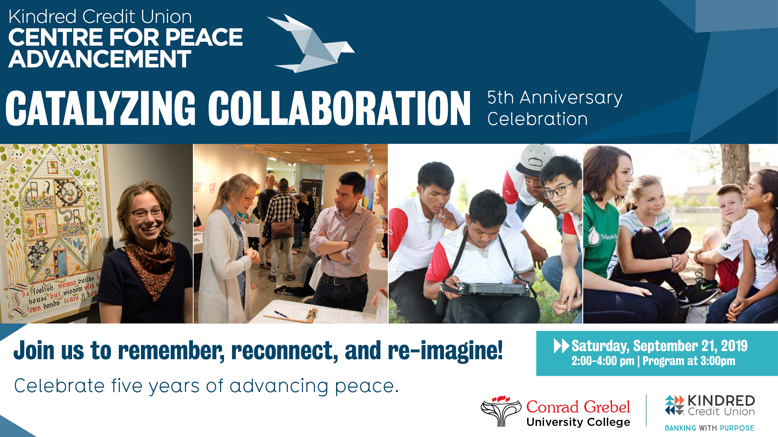 Centre for Peace Advancement 5th anniversary celebration