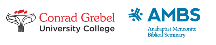 Conrad Grebel University College and Anabaptist Mennonite Biblical Seminary logos