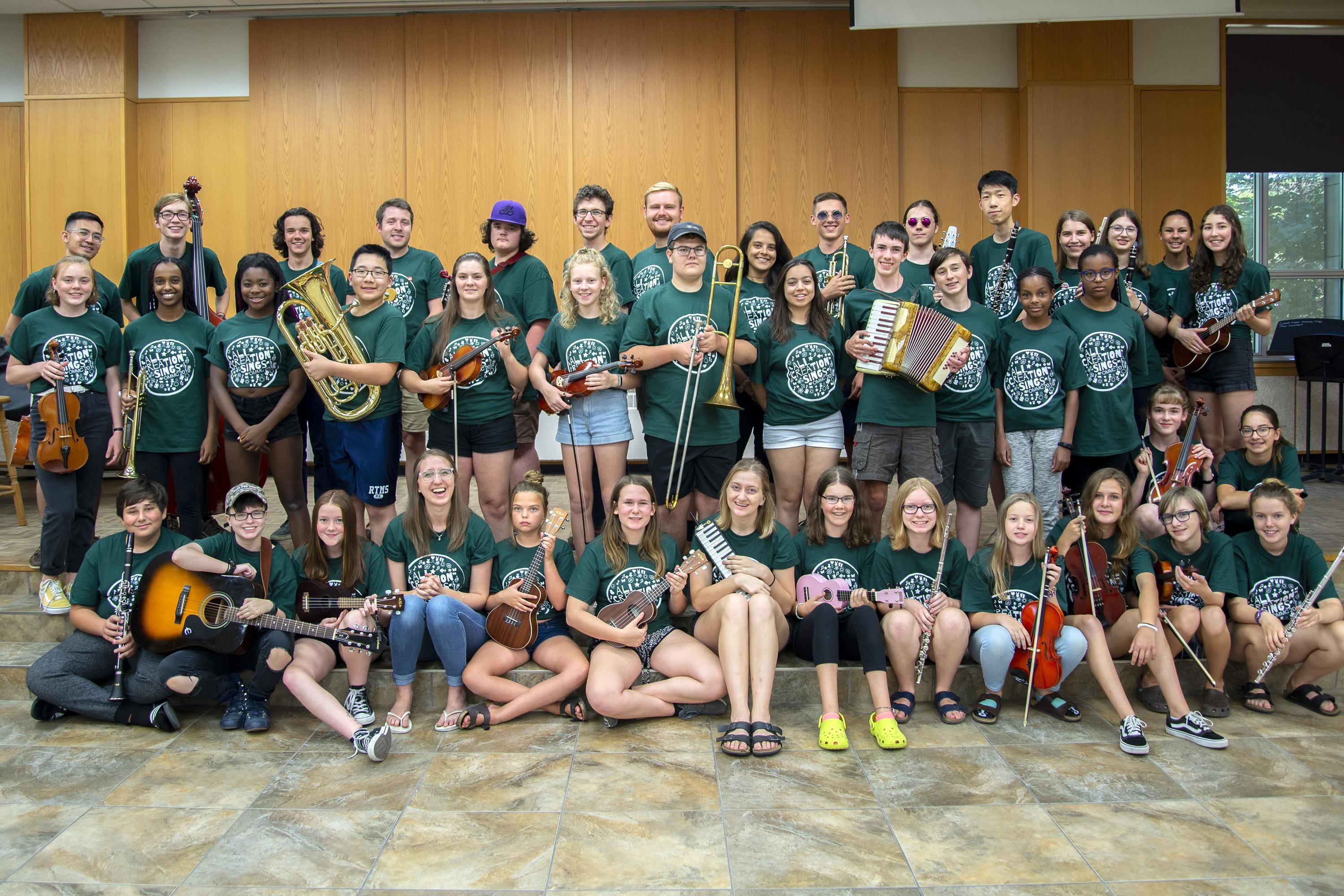 OMMC 2020 - All camp photo