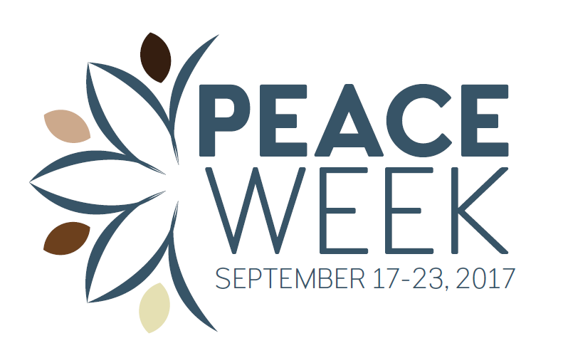 Peace Week: September 18 to 23 2017