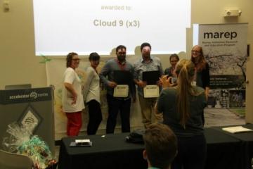 Cloud 9 hackathon group.