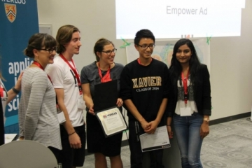 Empower Ad hackathon group.