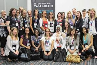 Attendees at The Canadian Public Health Association Conference.