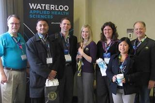 Attendees at The Ontario Public Health Conference.