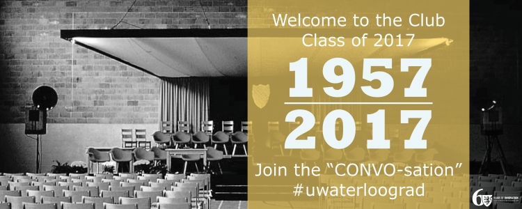 University of Waterloo Convocation Celebrating 60 Years