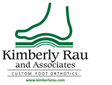Kimberly Rau and Associates custom foot orthotics logo  kimberlyrau.com