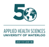 Applied Health Sciences 50th anniversary logo