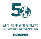 Faculty of Applied Health Sciences 50th anniversary logo